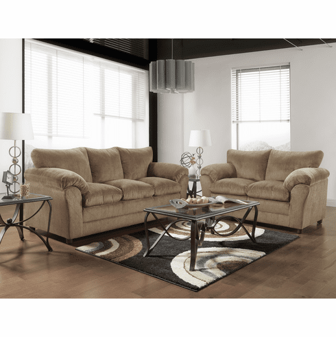 1153 Kelly Bark Sofa Set Collection By