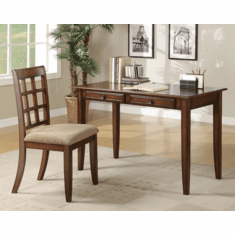 Newton Chestnut Desk and Chair by Coaster