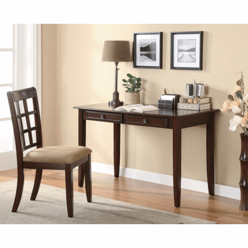 Newton Amber Desk and Chair by Coaster