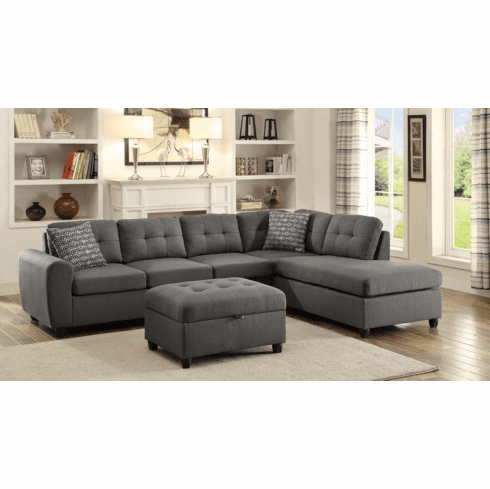 Stonenesse Reversible Sectional