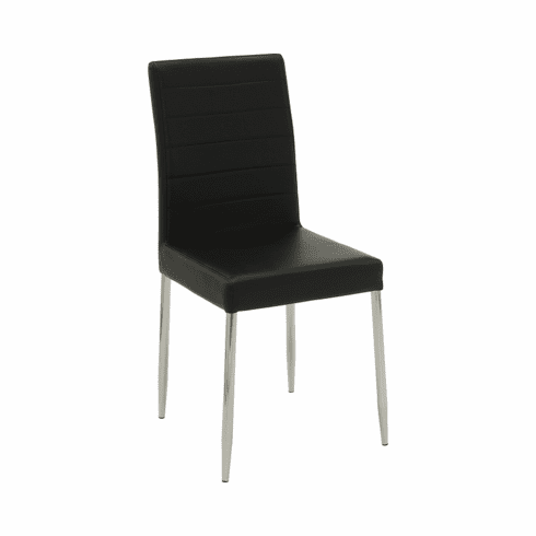 Vance Black Dining Chairs (includes 4 chairs)