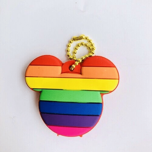 Rainbow Micky Key Holder