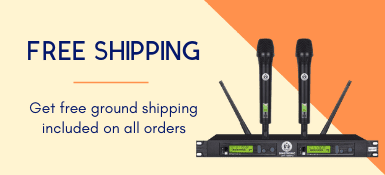 Get free ground shipping included on all orders.