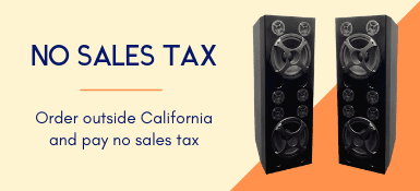 Order outside California and pay no sales tax.