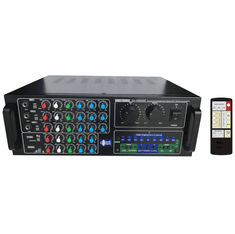 "Singtronic KA-1000DSP Professional Digital 1500W Mixing Amplifier Karaoke <font color=""#FF0000""><i><b>Newest Model: 2019 Built in HDMI, Optical, Coax & Bluetooth </b></i></font>"