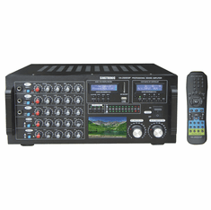 "Singtronic KA-2500DSP Professional DJ/KJ Digital 2600W Mixing Amplifier Karaoke HDMI, USB Voice Recording & Bluetooth Function <font color=""#FF0000""><b><i>Model: 2019 Built in 3.5"" LCD Monitor</i></b></font>"