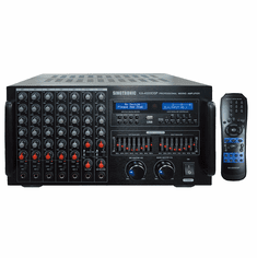 Singtronic KA-4000DSP Professional DJ/KJ Digital 4000W Console DSP Mixing Amplifier Karaoke Built in Bluetooth, HDMI, Voice Record, Equalizer and Optical