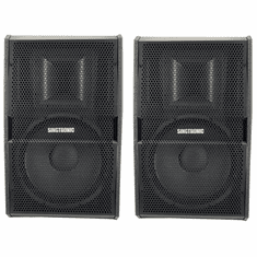 "Singtronic KS-2500Pro Professional 2000W + 2000W Vocalist Karaoke Speaker System (Pair) <font color=""#FF0000"">Newest: 2019 Built in Compressor &amp; 15&quot; Woofer</font>"