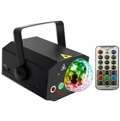 Singtronic L.E.D Party Big Laser Spot Disco Light with Remote Control & Sync Music Beat