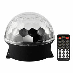 "Singtronic L.E.D Party Disco Ball Light with Remote Control & Sync Music <font color=""#FF0000""><i><b>New Model: 2019</b></i></font>"