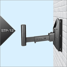 Singtronic Professional Heavy Duty Speaker Wall Mount Bracket (Pair)