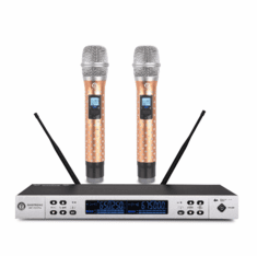 "Singtronic UHF-1000Pro Professional 300 Channels Dual Wireless Microphone Karaoke System <b><font color=""#FF0000"">Newest Model: 2019 Diamond Series</font></b>"