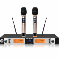 "Singtronic UHF-1500Pro Professional Digital True Diversity Dual Wireless Microphone Karaoke System <font color=""#FF0000"">Newest Model: 2020 Pro Series</font>"