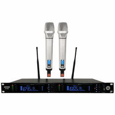 "Singtronic UHF-4500Pro Professional Digital Dual PLL Wireless Microphone Karaoke System <b><i><font color=""#FF0000"">Newest Release: 2020 Top of the Line, Feedback Control</font></i></b>"