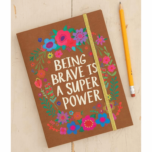 "Being Brave Journal ""Natural Life"""