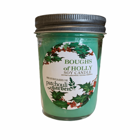 Boughs of Holly Soy Candle