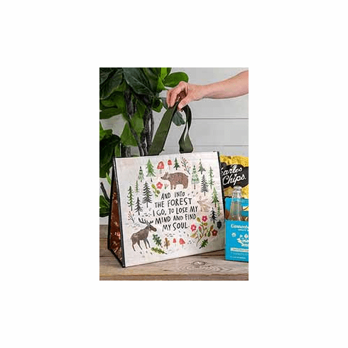 """Into the Forest Insulated Tote- """"Natural Life"""""""