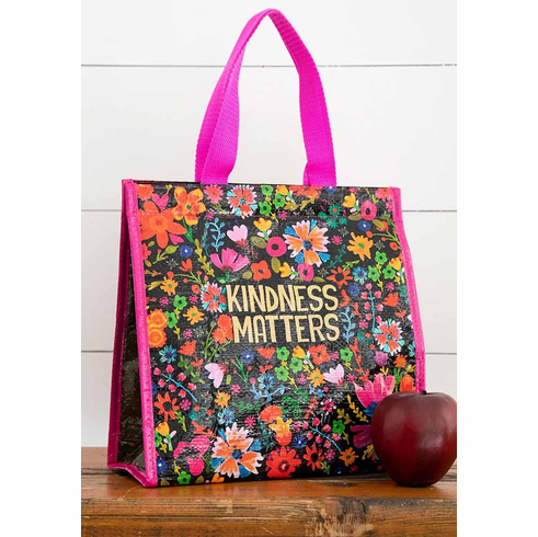 "Kindness Matters Insulated Lunch Tote - ""Natural Life"""