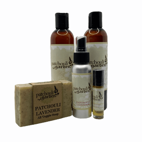 Patchouli Lavender Gift Set w/ Bar Soap