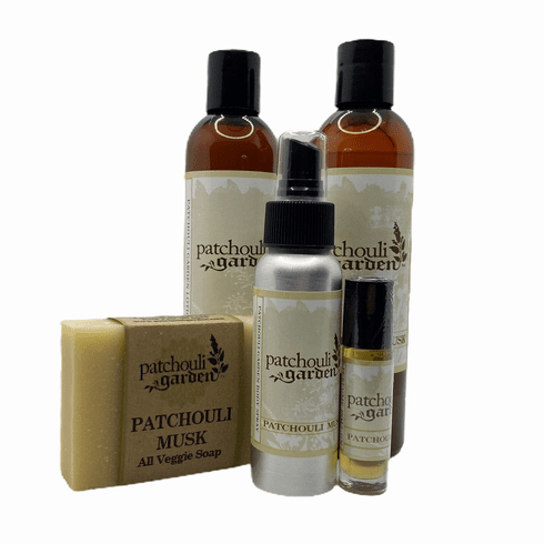 Patchouli Musk Gift Set w/ Bar Soap