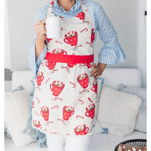 Simply Whimsical Hot Cocoa Apron