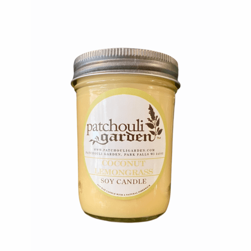 Soy Candle- Coconut Lemongrass