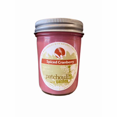 Soy Candle - Spiced Cranberry