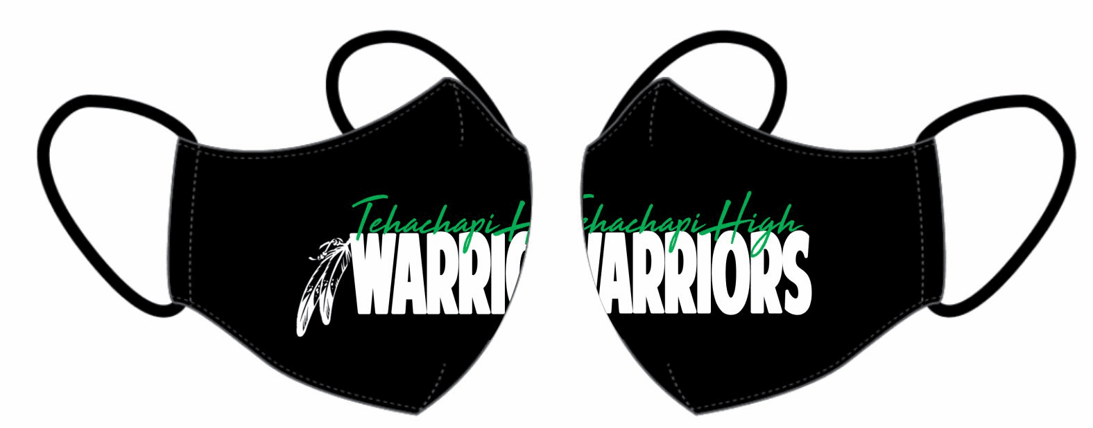 Warrior Wear Face Mask