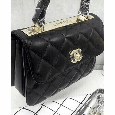 Chanel lamskin handbag