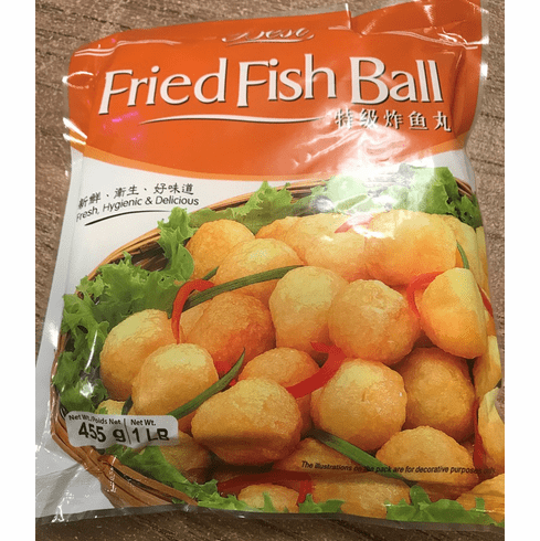 Fried Fish Ball no Meat <br/> &#28856;&#40060;&#20024; 40&#30917;