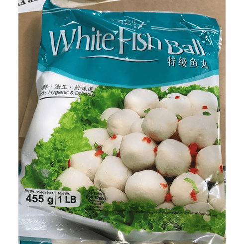 White Fish Ball no Meat <br/> &#29305;&#32423;&#40060;&#20024; 40&#30917;