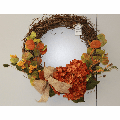 FALL  DOOR WREATH
