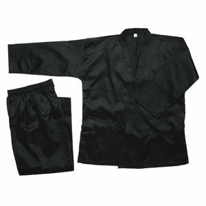 Black Karate Uniform