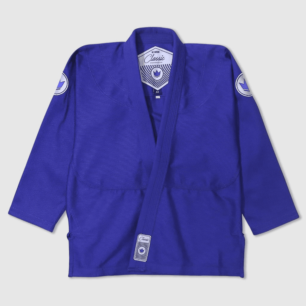 Kingz Classic BJJ Uniform Blue