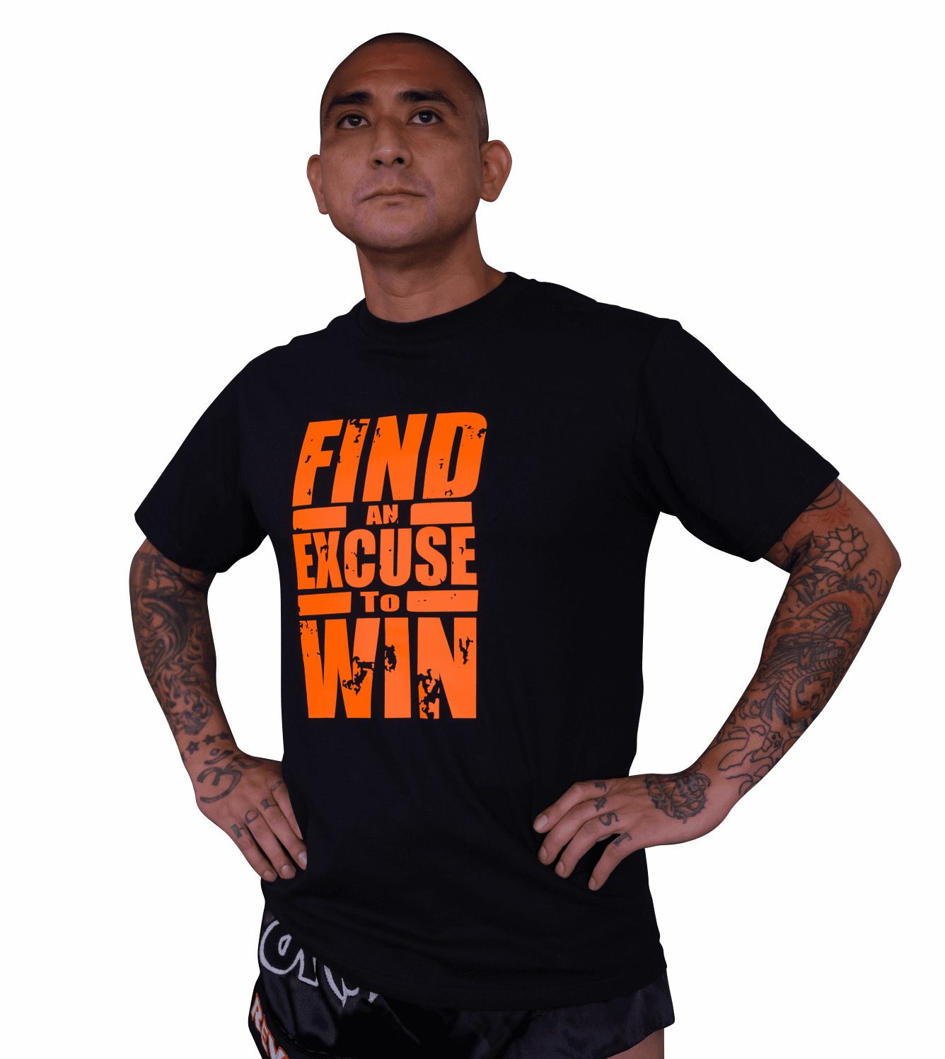 """Men's Tee- """"Find an Excuse to Win"""""""