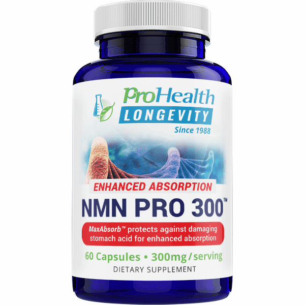 NMN Pro Enhanced Absorption™ - 300 Mg by ProHealth