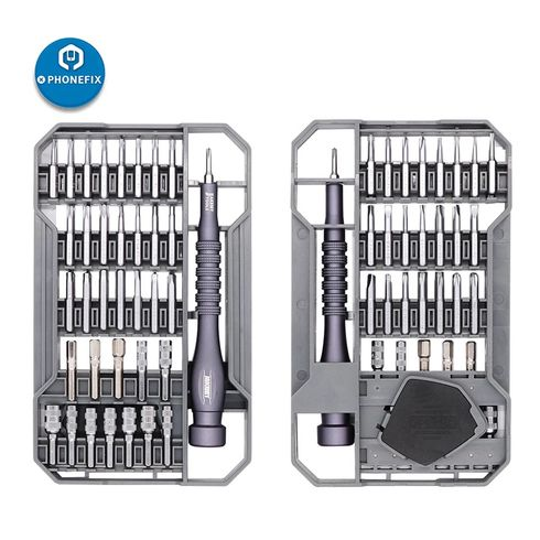 JM-8173 Precision Magnetic Screwdriver Set with Magnetic Driver Kit Professional Electronics Repair Tool Kit for iPhone iPad