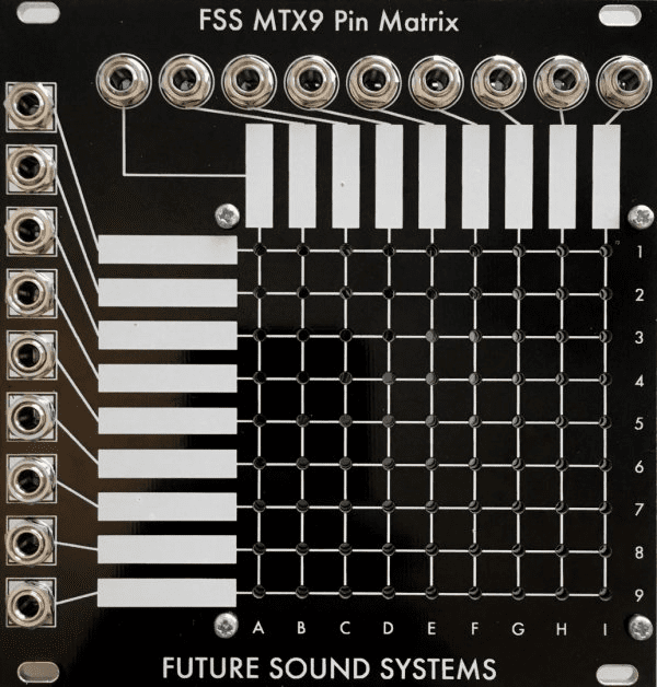 Future Sound Systems MTX9 Pin Matrix