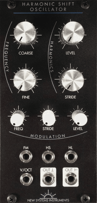 New Systems Instruments Harmonic Shift Oscillator