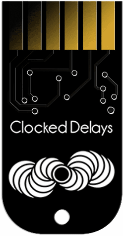 Tiptop Audio Clocked Delays ZDSP Cartridge
