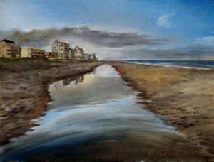 Ocean City Tidelpool Reflections by AHedderick