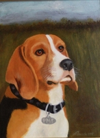 Pet Portrait in Acrylic by APinardi