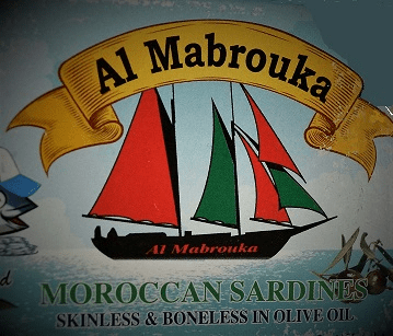 Al Mabrouka - Maroccan Sardines Skinless and Bonless in Olive oil - 3.17 Oz