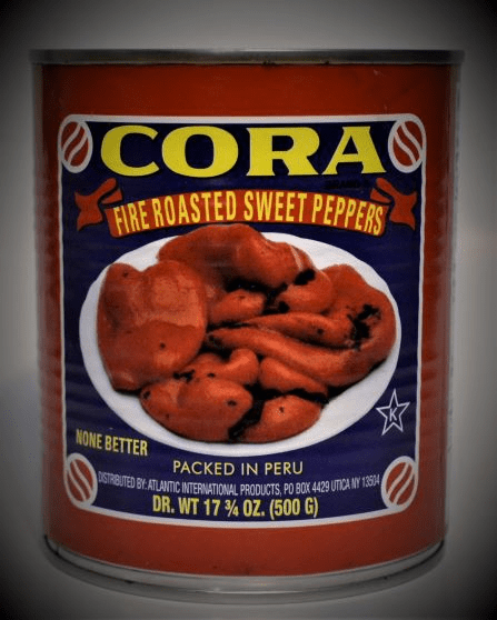 Cora Fire Roasted Sweet Peppers - 28 Oz.