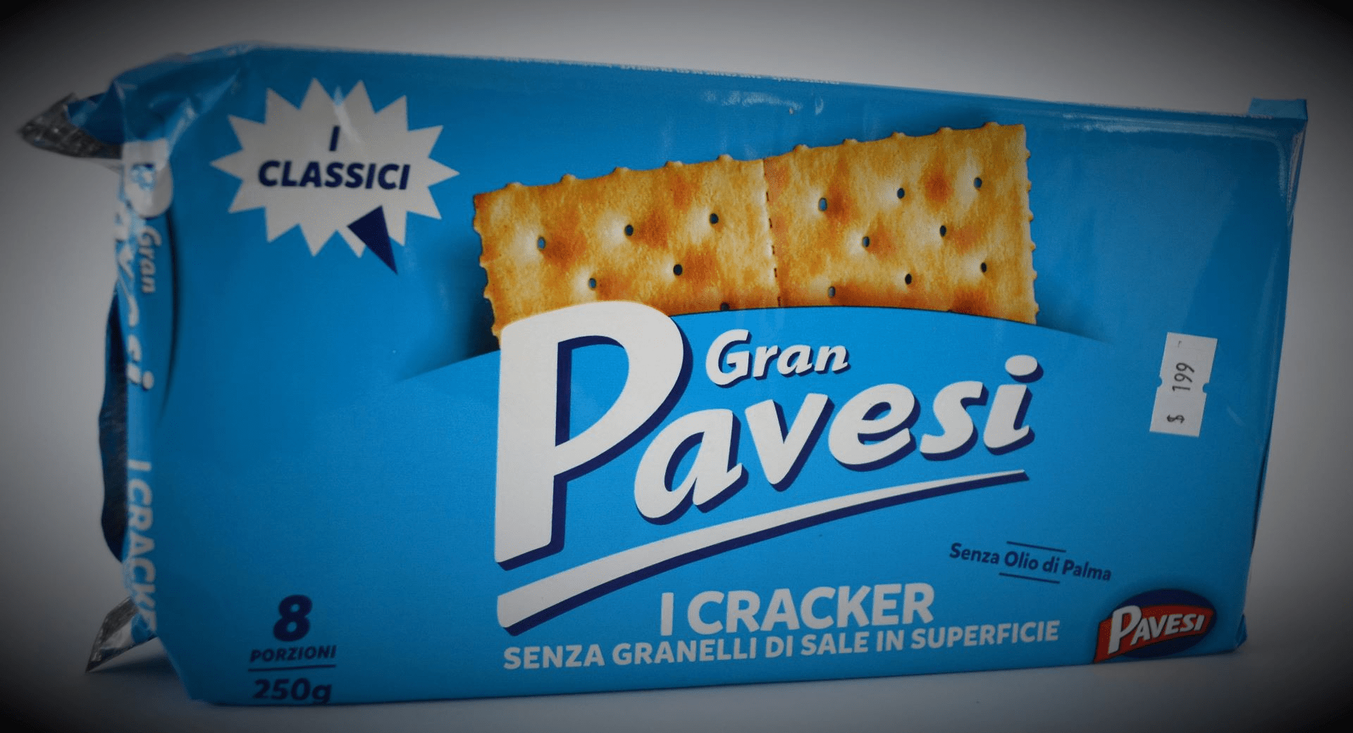 Gran Pavesi - Crakers without salt grains on the surfice - 9.88 Oz