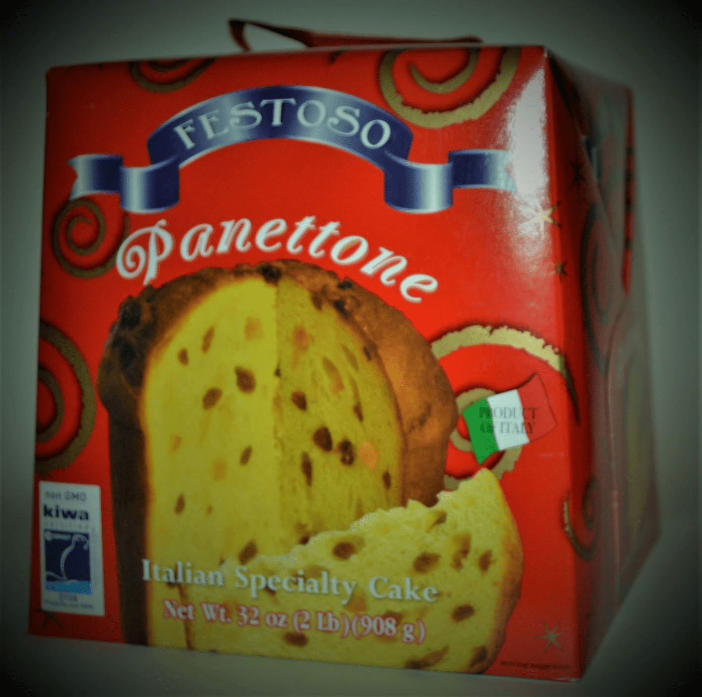 Pannettone Festoso from Italy 2 Lbs.