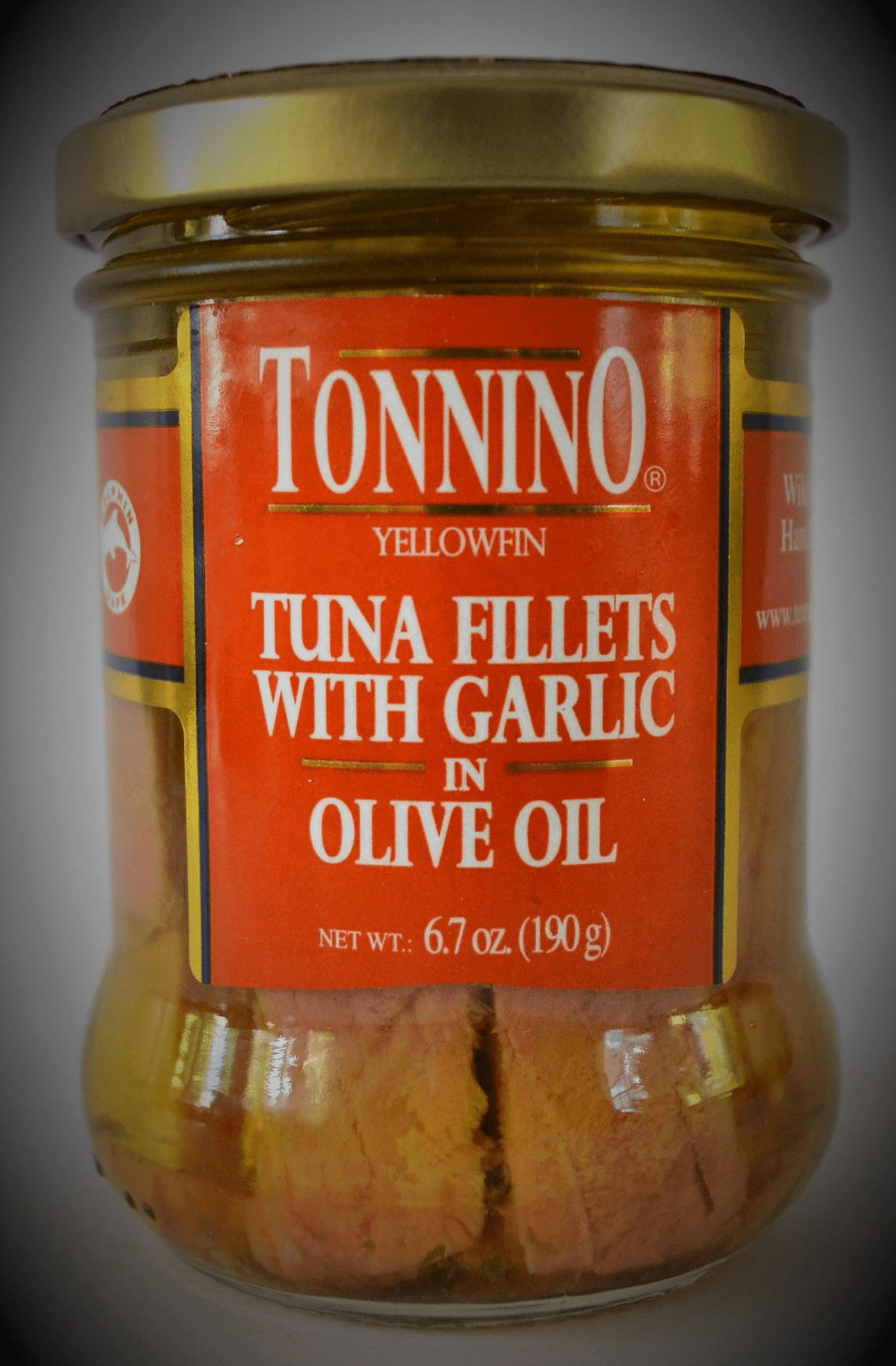 Tuna Filletes with Garlik and Olive Oil - 6.7 Oz