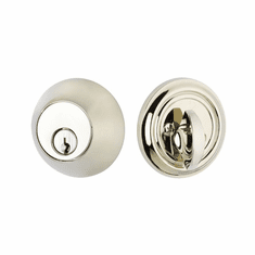 Emtek 8450-US15 Satin Nickel Regular Style Single Cylinder Deadbolt