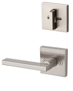 Kwikset 604HFLSQT Halifax Lever with Square Rose