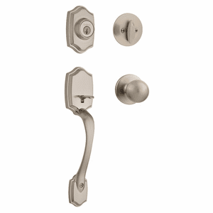 Kwikset 687BW Belleview Handleset with Interior Pack